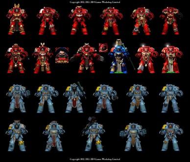 Space Hulk characters