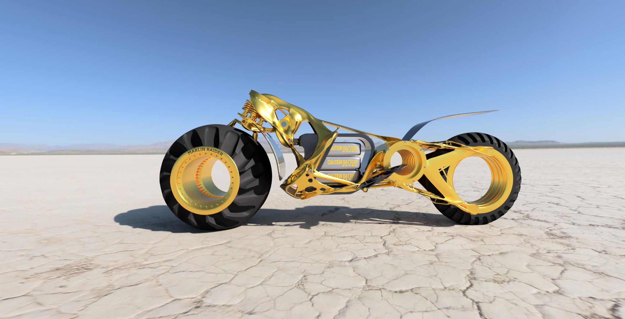 Generative design chassis, Marlin SM
